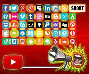 Shout at other Social Media