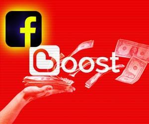 Spend in Facebook Boost