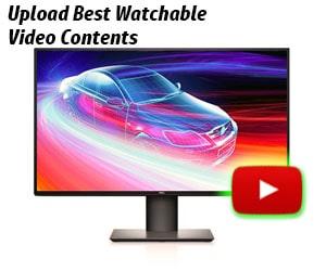 Upload Best Video Contents