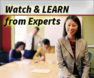 Watch & Learn from Experts
